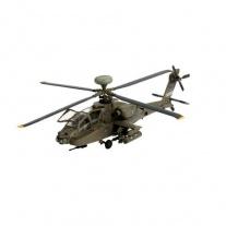 "04046 Вертолет AH-64D Longbow ""Apache"", масштаб 1:144(клей и кра"