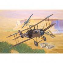 04061 Самолет Royal Aircraft Factory S.E.5a 1:72(клей и краски п