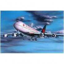 04210 Боинг 747-200, масштаб 1:390(Краски и клей покупаются отде
