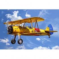 04676 Самолет Биплан Стирмен PT-13D Kaydet, американский(клей и
