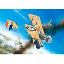 04677 Самолет Биплан Истребитель De HaVilland D.H.2, 1ая МВ, бри