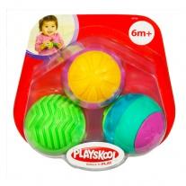 """06778 Игрушка """"Развивающие мячики"""" (3 штуки) Hasbro"""