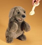 2006 Мягкая игрушка Собака сидящая, 38см Folkmanis (Фолкманис)