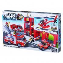 2404 Набор Blok Squad «Пожарная станция» Mega Bloks