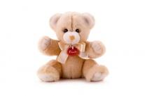 25241 Мягкая игрушка Бежевый медвежонок Денни,  26 см Trudi