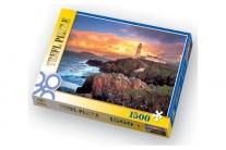 "26053 пазл ""Маяк на мысе Фанад, Ирландия"", 1500 деталей Trefl"