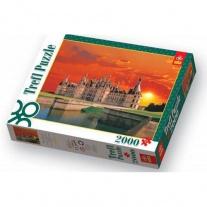 27049 Пазл 2000 дет. - Замок Чамборд, Франция Trefl