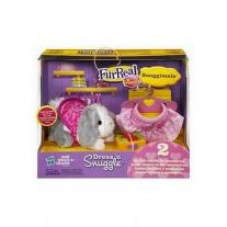 """27161 Ласковые Зверята + игровой набор """"Snuggimals"""" из серии FurReal Friends Hasbro"""