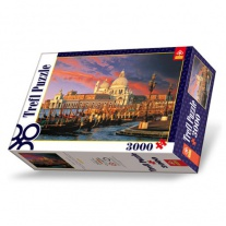 33020 Пазлы 3000 дет. - Базилика Санта-Мария делла Салюте, Венеция Trefl