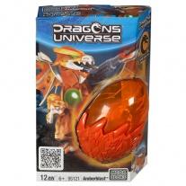 """95225 Мини-набор в яйце """"Драконы Юниверс"""" 120 Mega Bloks"""