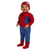 """B495-002 Костюм """"Человек-паук"""" с мускулами для малышей (2-3 года/спинка 28 см, бок.шов 60 см) Cesar"""