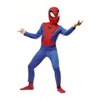 """C137-002 Костюм """"Человек-паук"""" с капюшоном (5-7 лет/cпинка 48 см, бок.шов 80 см) Cesar"""