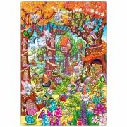 264 Развивающая игра - Напольный пазл «Зачарованный лес» +3 Or