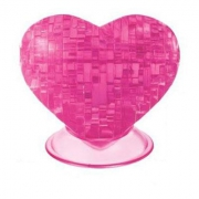 9002-NP 3-d Пазл Сердце розовое