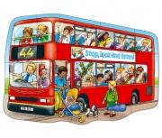 249 Развивающая игра - Напольный пазл «Большой автобус» +2 Or