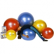 90/95 Мяч гимнастический 95 см Ledraplastic