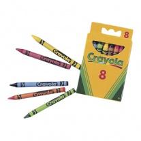 0008 8 восковых мелков для самых маленьких Crayola