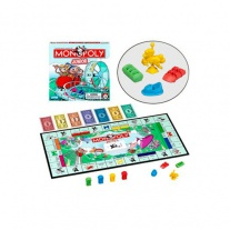 """00441 Настольная игра """"Монополия для детей"""" Hasbro"""