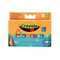 0080 8 восковых мелков для самых маленьких Crayola