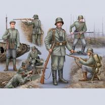 02504 Немецкая пехота 1-ой Мировой Войны (набор без красок и клея) Revell