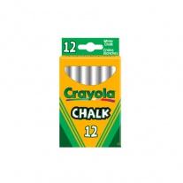 0280 12 неосыпающихся белых мелков Crayola
