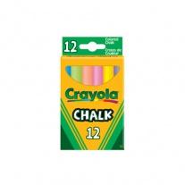0281 12 цветных мелков с пониженным выделением пыли Crayola