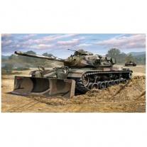 03175 Танк M60A3 c бульдозерным лезвием M9, масштаб 1:72(в набор