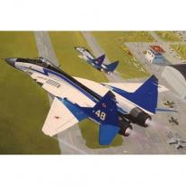 "04007 Самолет МиГ-29 ""The Swifts"", масштаб 1:144(в набор не вход"