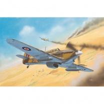 04144 Военный самолет Hawker Hurricane Mk II C, масштаб 1:72(в н