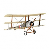 04187 Ретро-истребитель Sopwith Triplane, масштаб 1:72(клей и кр
