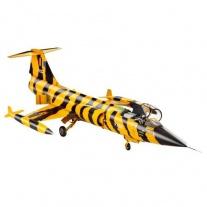 04668 Самолет Истребитель F-104 G Starfighter(краски и клей прод