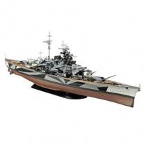 05096 Военный корабль Tirpitz; 1:350(клей и краски покупаются от