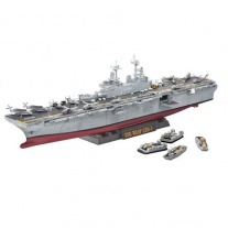 05104 Корабль U.S.S. Wasp Class(клей и краски покупаются отдельн