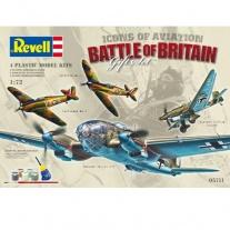 """05711 Подарочный набор """"Битва Британии"""", 4 самолета(в набор вход"""
