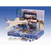 """05757 Подарочный набор """"Самолет Concorde BA"""", масштаб 1:144(в на"""