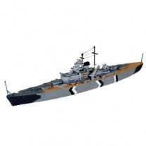 05802 Линейный корабль Бисмарк, масштаб 1:1200(клей и краски про