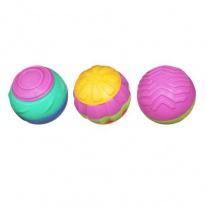 "06780/ast06678 Игрушка ""Развивающие мячики"" (3 штуки) Hasbro"