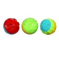 "07759/ast06678 Игрушка ""Развивающие мячики"" (3 штуки) Hasbro"