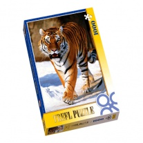 "10135 пазл ""Сибирский тигр"", 1000 деталей Trefl"