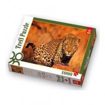 "10169 пазл ""Леопард"", 1000 деталей Trefl"