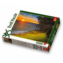 10214 Пазлы 1000 дет. - Балтийское море при закате солнца Trefl
