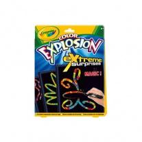 10488 Волшебная раскраска Color Explosion черная Crayola
