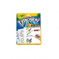 10489 Волшебная раскраска Color Explosion белая Crayola