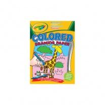 10507 Цветная бумага для рисования Crayola