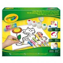 12610 Набор для рисования и раскрашивания Color Wonder Crayola