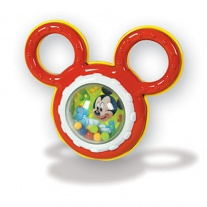 14685(14612) Погремушка  Микки  с ручками Clementoni Disney Baby