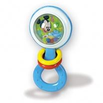 14686(14608) Погремушка  Микки  с колечками Clementoni Disney Ba