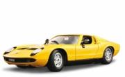 18-11010 Lamborghini Miura (1968) Bburago Машина Ламборджини MIU