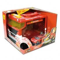 18-31201 Набор Ferrari Гараж + 1 машинка 1:43 (со звуковыми и св