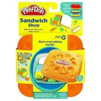 "20655/ast20608 Набор пластилина ""Сэндвичи"" в ассортименте Hasbro"